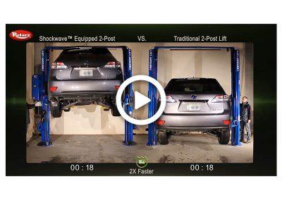 Shockwave 2-Post Comparison Lexus