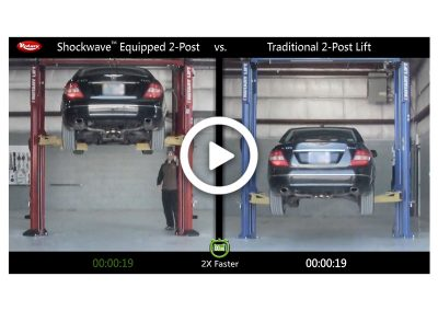 Shockwave 2-Post Comparison Mercedes