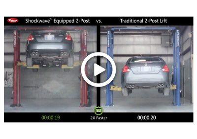 Shockwave 2-Post Comparison Nissan