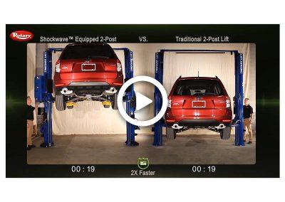 Shockwave 2-Post Comparison Subaru