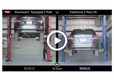 Shockwave 2-Post Comparison Toyota