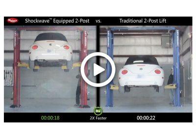 Shockwave 2-Post Comparison Volkswagen