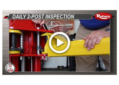 90 Know How – Two Post Daily Inspection
