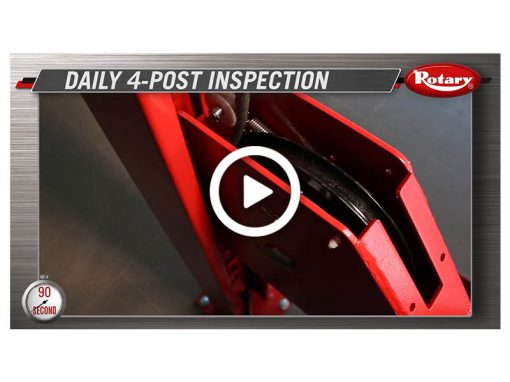 90 Know How – Four Post Daily Inspection