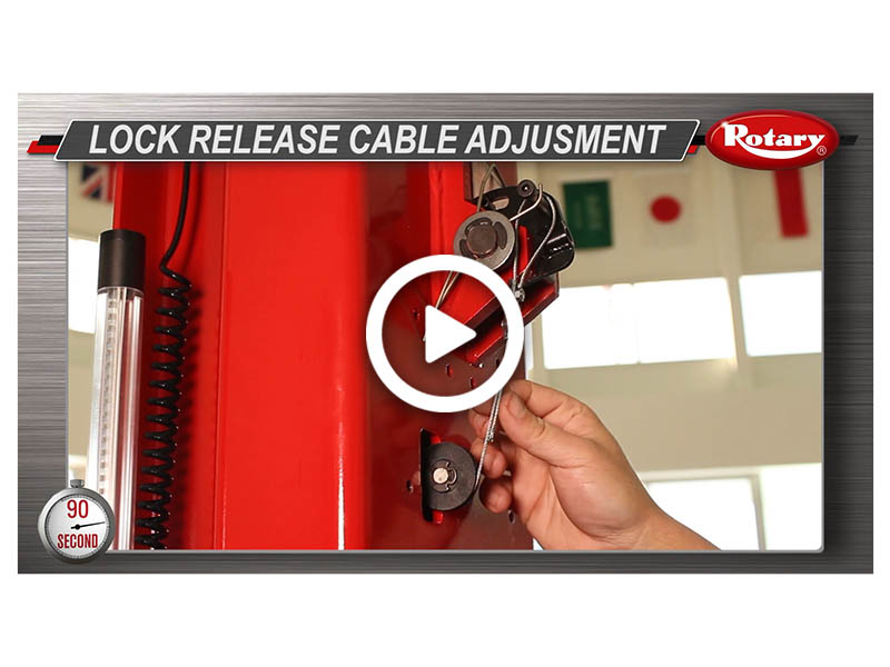90 Know How – Lock Release Adjustment