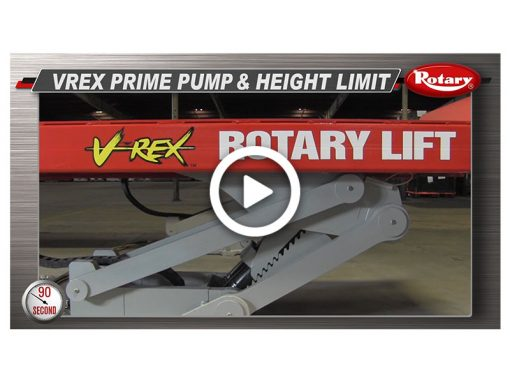 90 Know How – VREX Prime pump / Height Limit