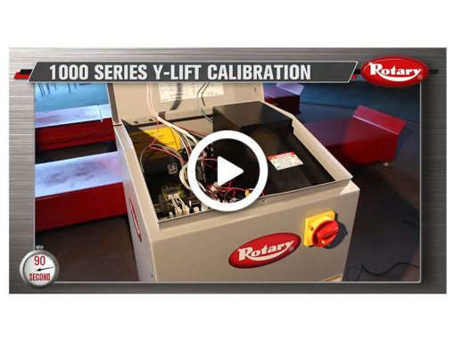 90 Know How – Y-Lift Calibration