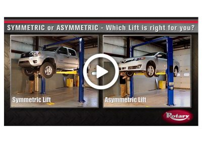 Asymmetric vs Symmetric