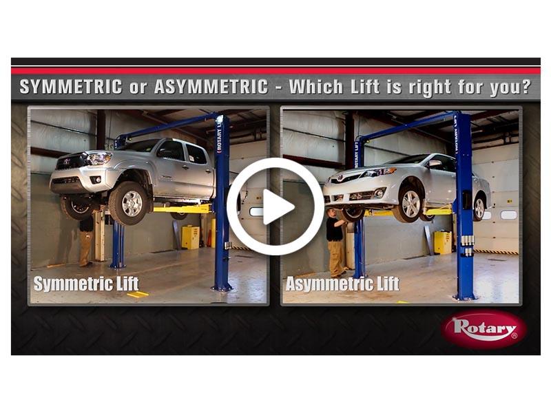 Asymmetric vs Symmetric
