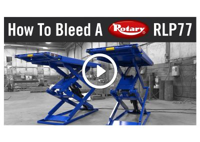 How To Bleed A Rotary RLP77