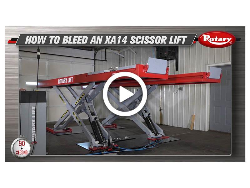 How to Bleed XA14