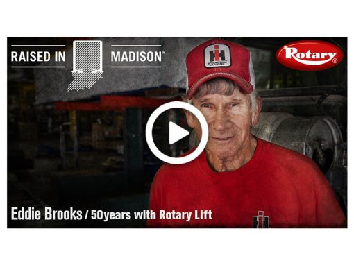 Rotary Spotlight Brooks