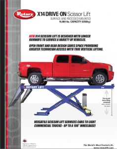 x14 Drive-on Lift