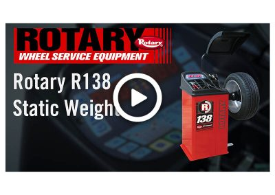 R138 Static Weight