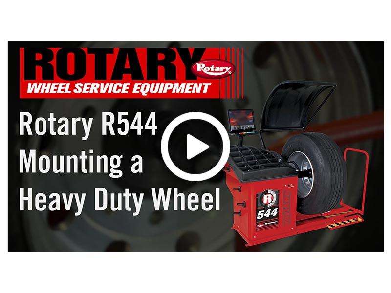 R544 Mounting HD Wheel