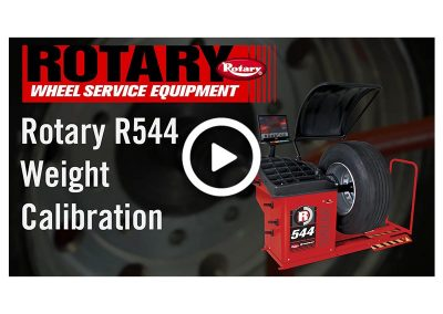 R544 Weight Calibration