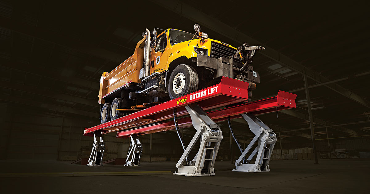 Truck Lifts   Rotary Lift