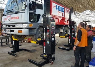 mobile column lift flex