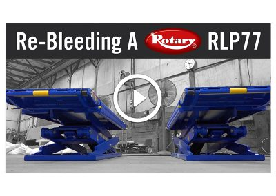 Re-Bleed A Rotary RLP77