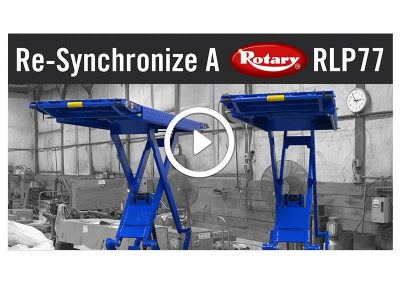 Re-Synchronizing A Rotary RLP77