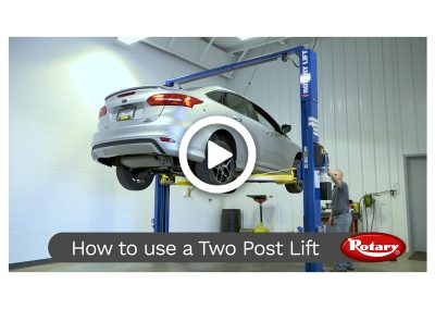 How to use a 2-Post lift