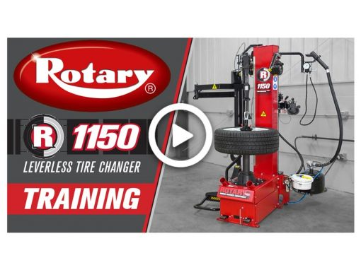 Rotary R1150 Tire Changer Training