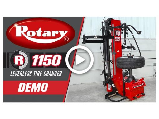 Rotary R1150 Tire Changer Demo