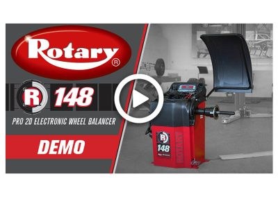 Rotary R148 Wheel Balancer Demo