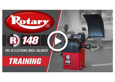 R148 Wheel Balancer Training