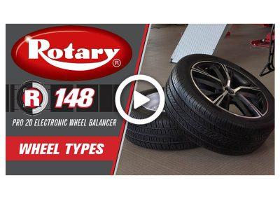 Rotary R148 Wheel Types