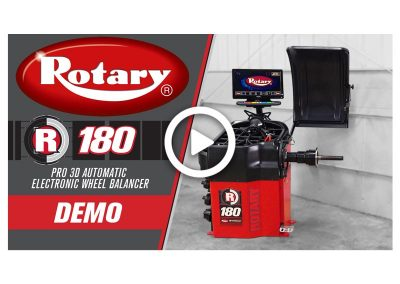 Rotary R180 Wheel Balancer Demo