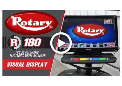 Rotary R180 Visual Display