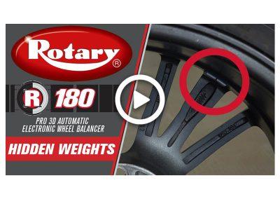 Rotary R180 Hidden Weights