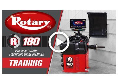Rotary R180 Wheel Balancer Training