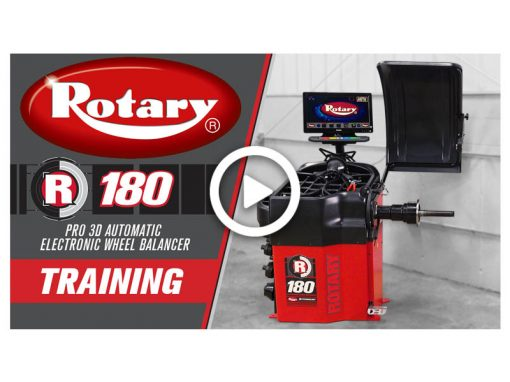 Rotary R180 Wheel Balancer Training