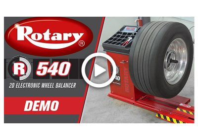 R540 Wheel Balancer Demo