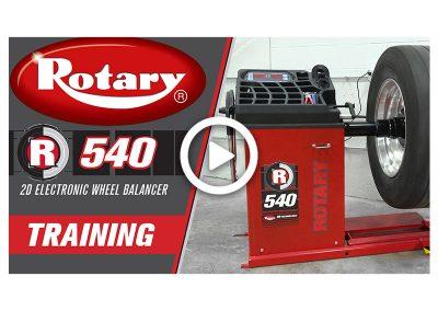 R540 Wheel Balancer Training